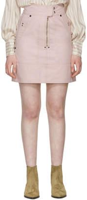 Isabel Marant Pink Natalia Chic Denim Miniskirt