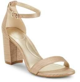 Bandolino Armory Shimmer Fabric Sandals