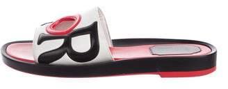 Christian Dior Marina Leather Slide Sandals