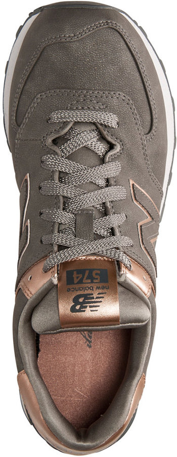 New Balance Women's 574 Precious Metals Casual Sneakers from Finish Line 8