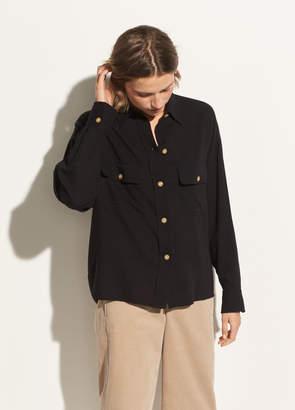 Buttoned Utility Shirt