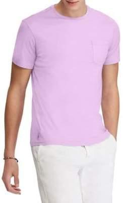 Polo Ralph Lauren Lavender Cotton Jersey Crewneck T-Shirt