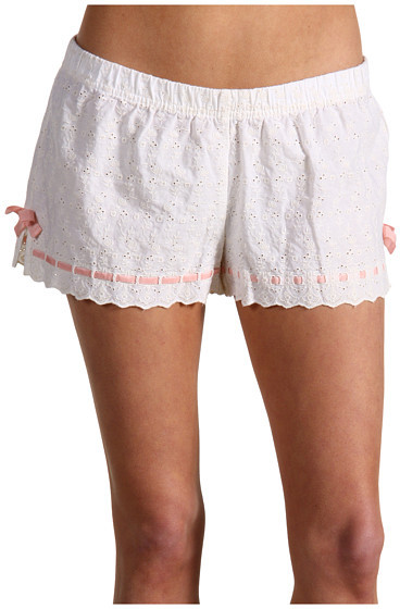 Juicy Couture Woven Eyelet Boxer