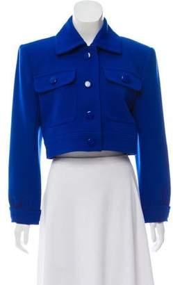 Saint Laurent Structured Cropped Jacket