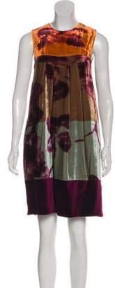 Etro Velvet Printed Dress