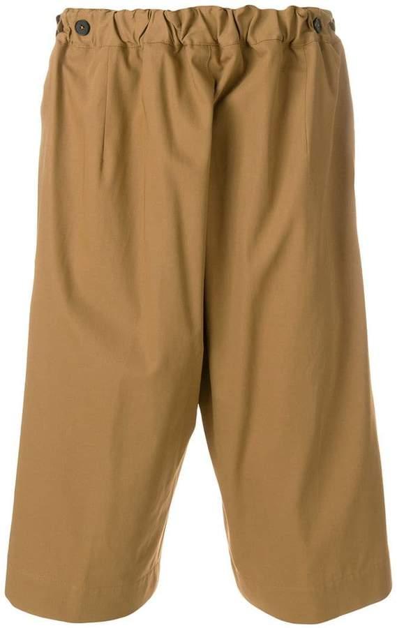 loose fit bermuda shorts