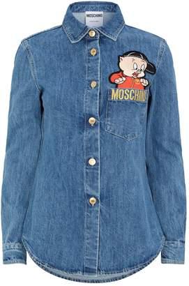 eb21611311 Moschino Looney Tunes Denim Shirt