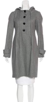 Robert Rodriguez Wool-Blend Knee-Length Coat