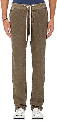 James Perse JAMES PERSE MEN'S LINEN DRAWSTRING PANTS $225 thestylecure.com