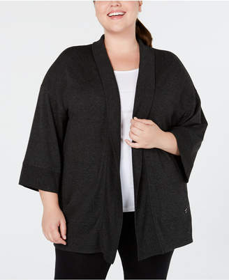 Calvin Klein Plus Size Relaxed Cardigan