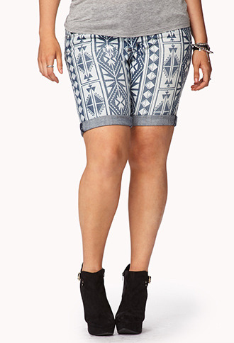 Forever 21 Day Trip Denim Shorts