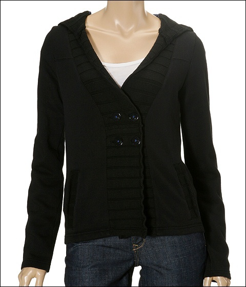 Hurley - Bernadette Button Jacket (Black)