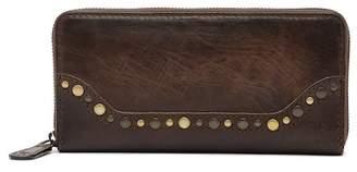 Frye Melissa Leather Western Zip Wallet