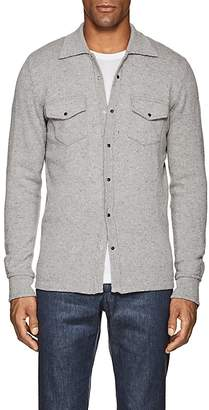 Eleventy Men's Cashmere Sweater Shirt