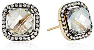 Suzanne Kalan Kalan by 14k Gold Envy Topaz Post Earrings