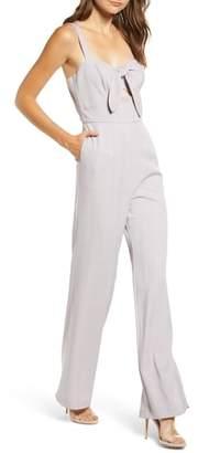 WAYF Roxy Glen Plaid Jumpsuit