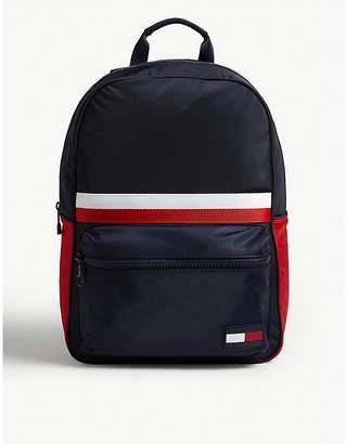 Tommy Hilfiger Logo tab nylon backpack