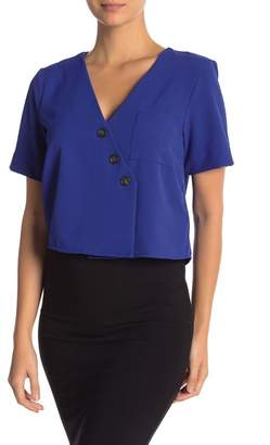 Ten Sixty Sherman Asymmetrical Pocket Blouse