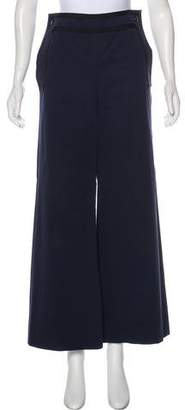 Chanel High-Rise Wide-Leg Pants