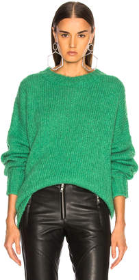 Etoile Isabel Marant Sayers Sweater in Green | FWRD
