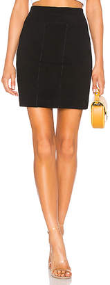 James Perse Side Split Skirt