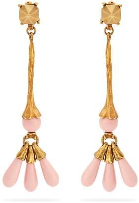 Valentino Long bead-drop earrings