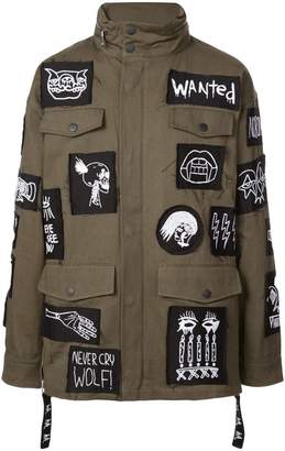 Haculla patch military jacket