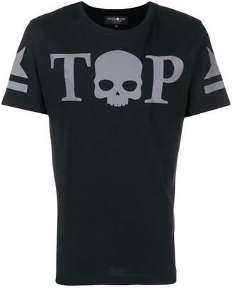 Hydrogen Top skull logo T-shirt