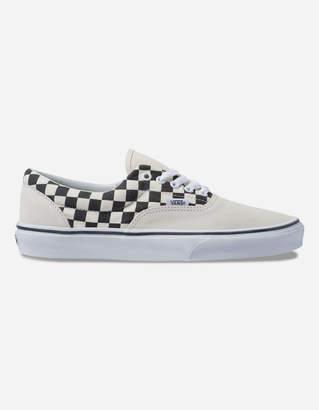 Vans Primary Check Era Marshmallow & Black Shoes