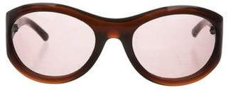 Bottega Veneta Tinted Round Sunglasses
