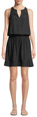 Ramy Brook Brynn Sleeveless Smock-Waist Dress