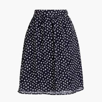 J.Crew Printed soft skirt