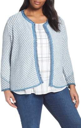 Nic+Zoe Moving On Open Front Cardigan