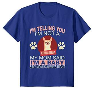 Breed Chihuahua Baby Pet Dog Animal Lover Mom Owner T Shirt