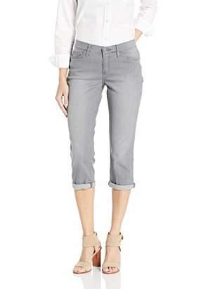 f4b15ed2 Lee Women's Flex Motion Regular Fit 5 Pocket Capri Jean