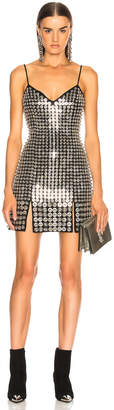 David Koma Metal Disc Dress