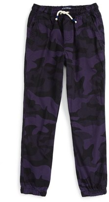Toddler Boy's Mini Boden Lined Jogger Pants $46.50 thestylecure.com
