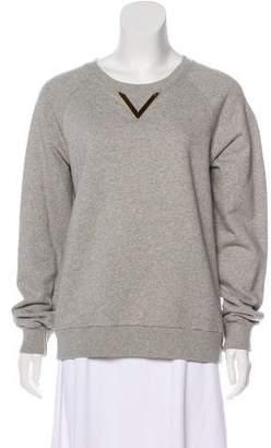 Sophie Hulme Embellished Long Sleeve Sweatshirt