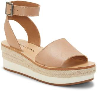 bd2c95fe6a4ed Lucky Brand Beige Women s Sandals - ShopStyle