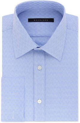 Sean John Men's Classic/Regular Fit Solid French Cuff Dress Shirt