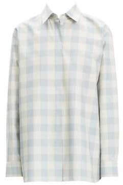 Theory Fuji Check Button-Down Shirt