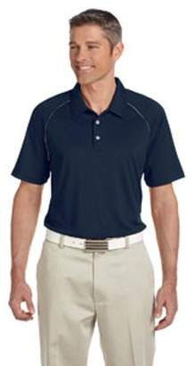 adidas Men's climalite Piped Colorblock Polo - NAVY/ WHITE - 3XL A82