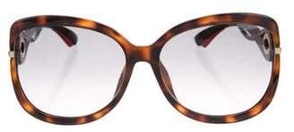 Christian Dior Twisting F Sunglasses
