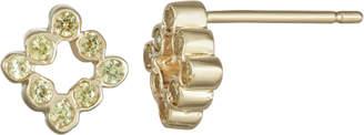 Parker Hi June Jewelry New York Mini Diamond Shape Stud Earrings