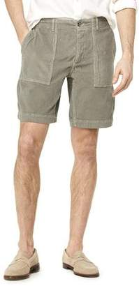 "Todd Snyder 9"" Stretch Italian Corduroy Camp Short in Thyme"