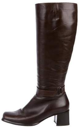 Sesto Meucci Leather Knee-High Boots