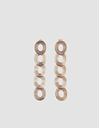 Pamela Love Cassini Brass Drop Earrings