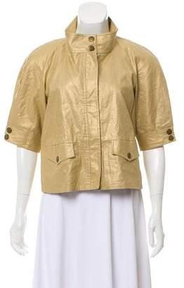 Diane von Furstenberg Ramira Linen Jacket