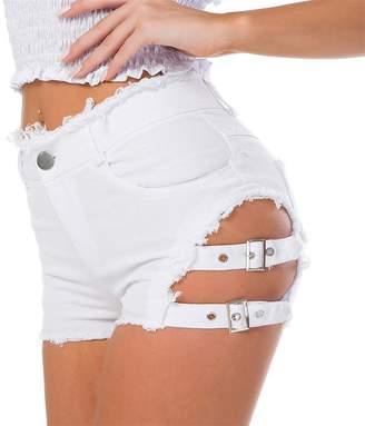 High Denim Hotpants Shopstyle Canada