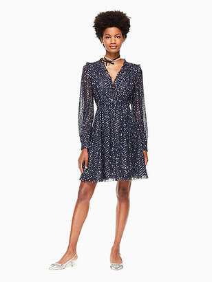 Kate Spade Night sky dot mini dress